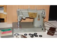 Singer Sewing Machine Model328K with accessories
