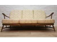 Ercol Three Seater Sofa (DELIVERY AVAILABLE FOR THIS ITEM OF FURNITURE)