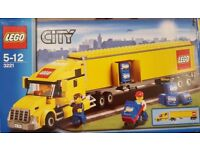 LEGO Yellow City Truck 3221 with box and instructions - complete