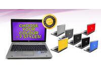 HP Elitebook Laptop Core i7 Fast HDD or SSD upto 16GB Ram - Custom colour