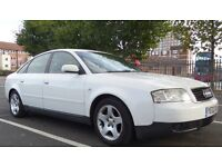 Lovely White Audi A6 2.5 from 2002 Diesel, Automatic for sale ASAP...