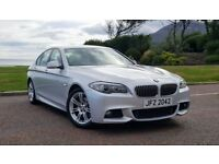 *BMW 5 Series 520D M SPORT AUTO* 1 owner, full leather, automatic N.I. car full BMW service history