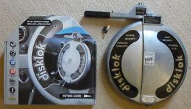 Disklok Steering Wheel lock. Small. Used