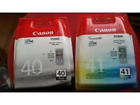 Canon Black & Colour Ink Cartridges 2