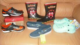 Boys Shoe Bundle. All Brand New. Size 1 and 11/2 (European Size 33, 331/2 ). Bundle 1.