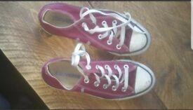 Well worn converse
