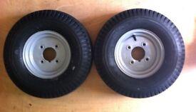 8 inch trailer wheels & tyres