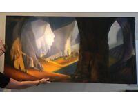 Large decorative painting