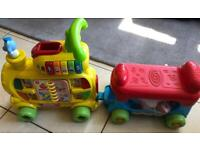 *Now collected* V tech train toy with letters FREE