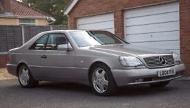 1994 Mercedes S Class V12 Coupe Limo