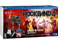 Rock Band 4 ps4 perfect condition and in box