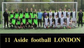 NEW TO LONDON? PLAYERS WANTED FOR FOOTBALL TEAM. FIND A SOCCER TEAM IN LONDON. Ref: rne3