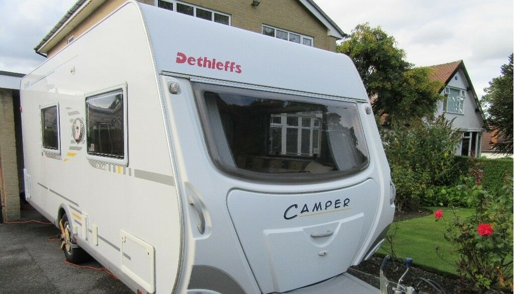 84ddfd6142 Dethleffs Camper DL540 4 berth (2005)