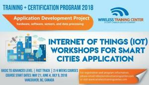 Internet of Things (IoT) Workshops for Smart Cities Application, IoT Networks, Project, LPWAN | Wireless Training Center