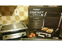 3in1 Contact Grill, barbecue Silvercrest