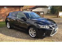 Lexus CT 200h 1.8 Advance CVT 5dr FSH Sat Nav, Heated Seats, Excellent Condition