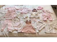 50 + pristine items for a baby girl (0-6 months)