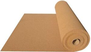CORK ROLL UNDERLAY SHEET 1m x 10m x 3mm - 10m2 , THICKNESS 3 mm