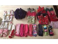 Girl's Bundle Of Clothes 2-3 Years, 3-4 Years