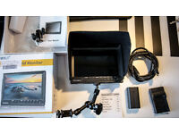 Feelworld FW-760 + EACHSHOT Battery + Charger, Magic Arm, Output 7'' Video Monitor Full HD 1920x1200