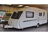 2007/08 SWIFT CHARISMA 560, 4 BERTH WITH FULL AWNING & MOTOR MOVER, ALL EXTRAS - READY TO GO!
