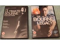 Bourne Ultimate & Legacy DVD's