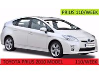 PCO Car Hire service Toyota Prius Hybrid PCO Licensed Cheapest & Uber Ready