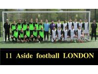 NEW TO LONDON? PLAYERS WANTED FOR FOOTBALL TEAM. FIND A SOCCER TEAM IN LONDON. Ref: re34