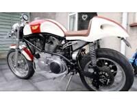 Custom built CAFE RACER Buell 1200 Harley M2