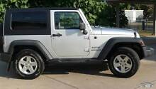 Silver 2010 4x4 Jeep Wrangler Coupe (Auto w/ Renegade Pack) Neutral Bay North Sydney Area Preview