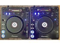 MINT 2 X PIONEER CDJ 1000 MK3 TUNED & SERVICED, Sdcards, mp3 pro dj decks