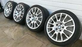 "BMW Wheels 18"" Alloy Wheels * BBS / BMW Style 216 * BMW Motorsport e90 e46 BMW Alloys ( 5x120 )"