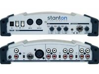 A STANTON FINALSCRATCH 2 DJ CONTROLLER MIXER TURNTABLES FINAL SCRATCH PC OR MAC
