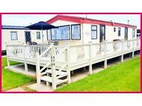 Richmond Holiday Centre, Skegness, 5 De-lux Private Caravans for Hire. club and swim passes included