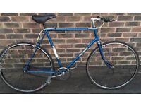 58cm Large XL Single speed BSA Bermuda lightweight road bike freewheel wheel