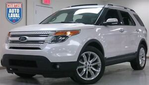 2014 Ford Explorer Limited AWD 7 PASSAGERS - NAV - CUIR - 2 TOIT