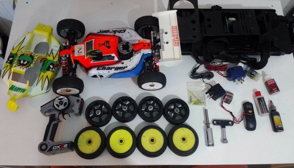 Nitro rc car, Kyosho MP9 TKI2 Racing version