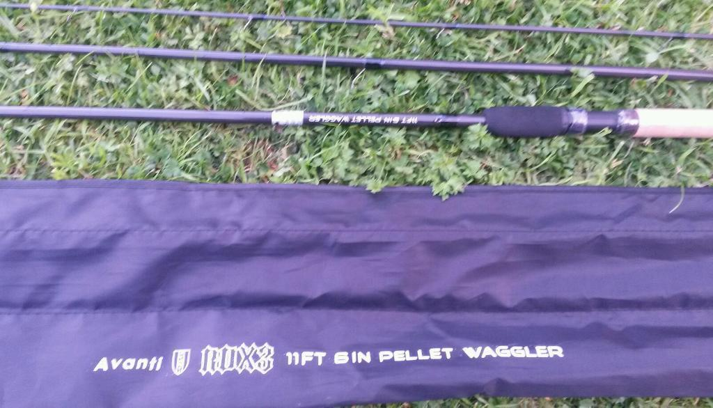 Brand new avanti pellet waggler 11.6ftin Hyde, ManchesterGumtree - Brand new never used rrp £39.99.We also sell pellets, like our facebook page something catchy for more info.Collect hattersley or new smithfield market openshaw every sunday where we sell new and used tackle and bait