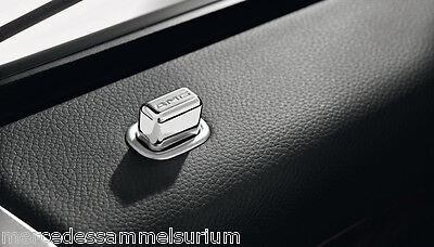 Mercedes Benz AMG Original Tür Pins eckig - R 129 SL Neu OVP