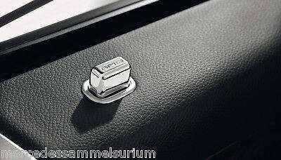 Mercedes Benz AMG Original 4x Tür Pin eckig W/V 221 S Klasse Neu OVP