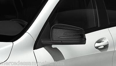 Mercedes Benz Original Außenspiegel Kappen Set Carbon X 156 GLA Klasse Neu OVP