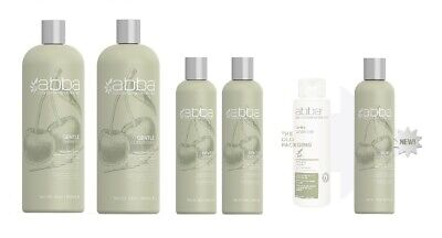 Abba Pure Gentle Shampoo, Conditioner - Choose Your Size: