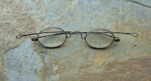 Antique Coin Silver Eyeglasses Marked : KING   Coin Silver