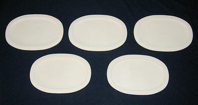 5 NEW Corning Ware French White LIDS /Covers F-15-PC 15 Oz Oval Lid Fit F-15-B
