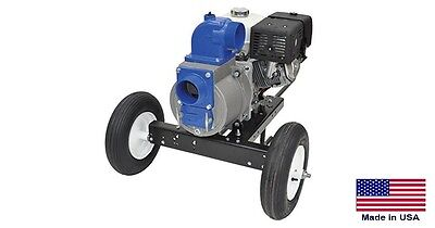Trash Pump - Commercial - 4 Ports - 32400 Gph - 11 Hp Hatz Diesel Wdolly Kit