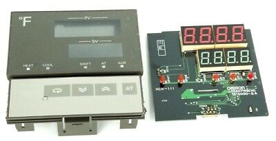 Omron E5axpwb14 Temperature Controller Display Board 1215090-8a Hcn-111