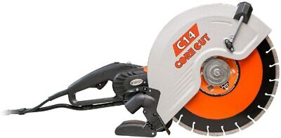Diamond Products Core Cut 48975 C14 Electric Hand Wet And Dry Concrete Saw 14