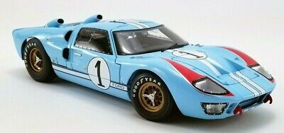 1966 Ford GT40 24 Le Mans-Ken Miles #1 Shelby Coll. 1:18 Diecast PRE-ORDER MIB