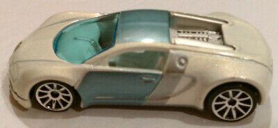Hot Wheels Bugatti Veyron Pearl White 2007 Mystery Car loose