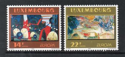 LUXEMBOURG MNH 1993 SG1356-1357 EUROPA